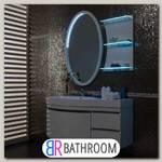 Мебель для ванной Aquanet Опера 115 белая с ящиком L