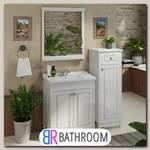 Мебель для ванной Comforty Тбилиси 70 белый глянец